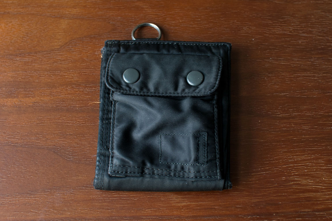 PORTER 二つ折り財布の大往生